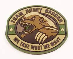 NOV PATCH HONEY BADGER M/C - 3067