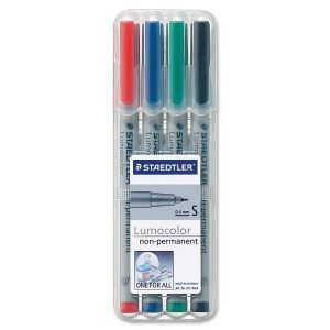STAEDTLER 4 PK SF NONPERMANENT - 311-WP4