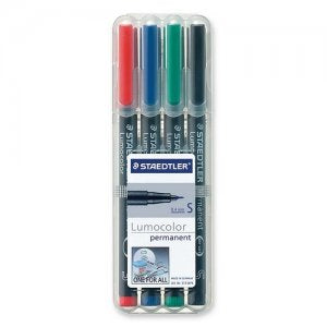 STAEDTLER 4 PK SF PERMANENT - 313-WP4