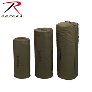 ROTHCO SIDE ZIP DUFFLE BAG O.D - 3490