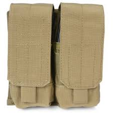 POUCH M4/M16 DOUBLE MAG COYOTE - 37CL03CT