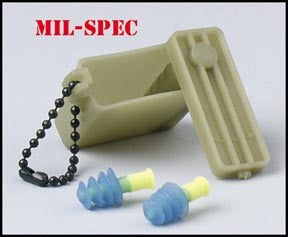 EAR PLUGS W/CASE G.I. - 5485000