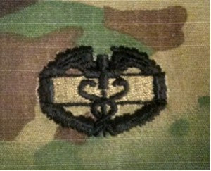 BADGE COMBAT FIELD MEDICAL MC - 5912A