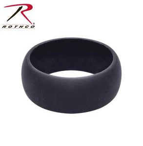 RING SILICONE BLACK - 7077