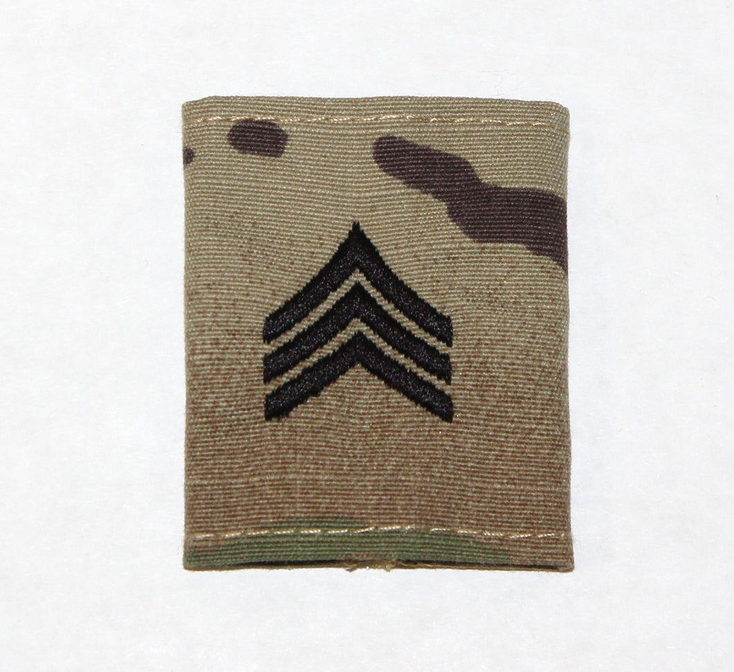 RANK GORETEX SGT E-5 OCP - 747A