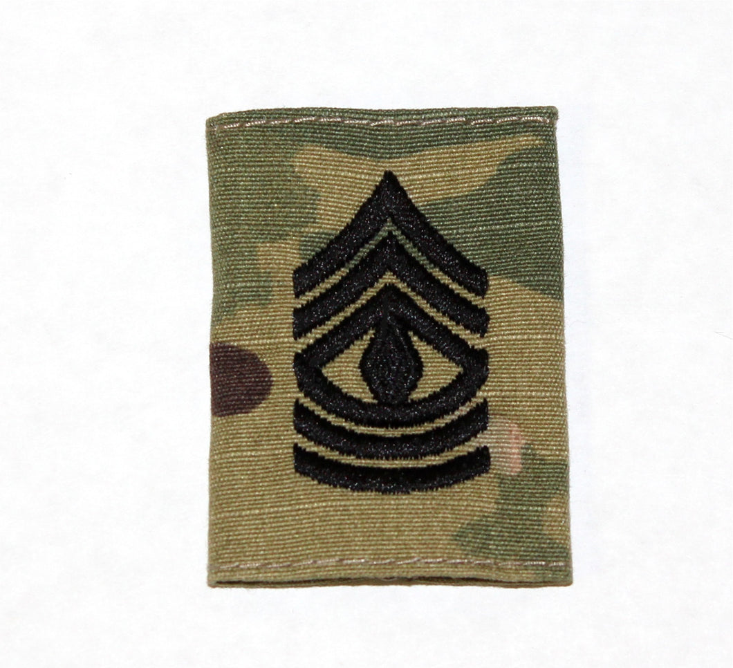 RANK GORETEX 1/SGT E-8 OCP - 751A