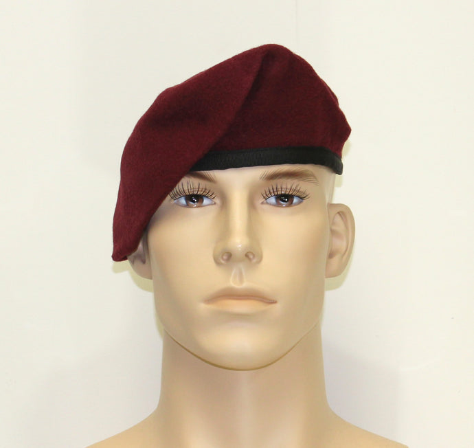 SHAVE/SHAPE MAROON BERET - 810M