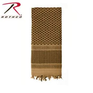 ROTHCO SHEMAGH SCARF COYOTE -8537-COYOTE
