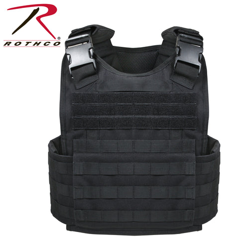 MOLLE PLATE CARRIER VEST BLACK - 8922
