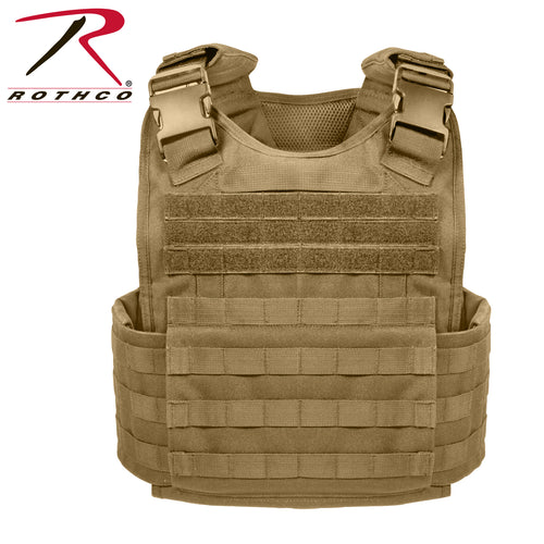 PLATE CARRIER VEST MOLLE COYOT - 8923