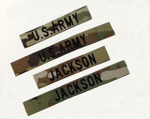 "NAME TAPE 1"" OCP W/VELCRO - 9019"