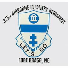 DECAL 325TH INF CREST - D26-A