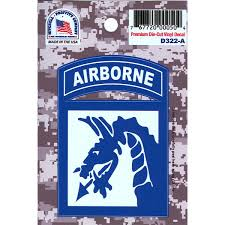 DECAL 18TH AIRBORNE - D322-A