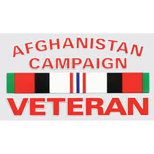 DECAL AFGHANISTAN CAM VET - D37