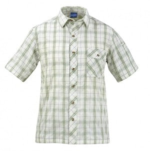 SHIRT COVERT SAGE PLAID - F8685-OV-317