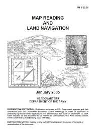 BOOK MAP READING & LAND NAV - TC 3-25.26