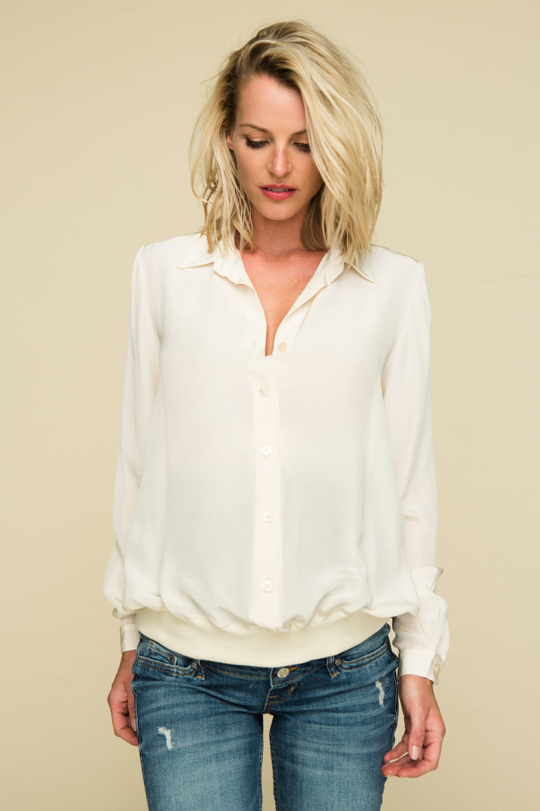 Barbican blouse