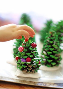 Five easy Christmas decorations to make with your children