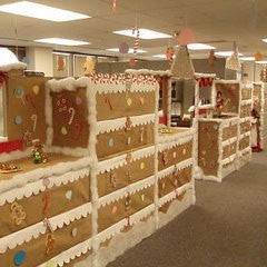 gingerbread office