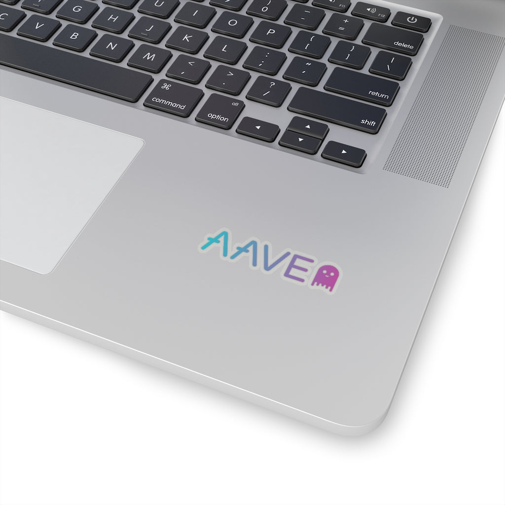Aave (AAVE) Cryptocurrency Symbol Stickers