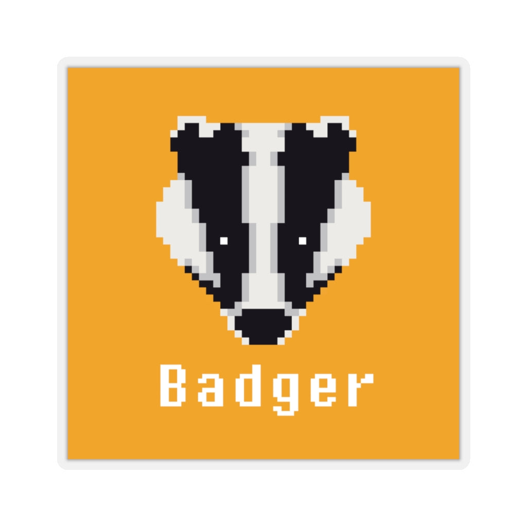 Badger DAO Cryptocurrency Logo Stickers