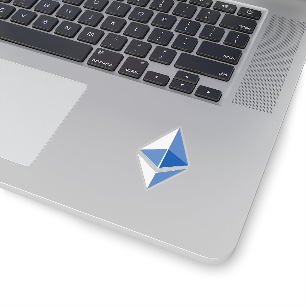 Ethereum ETH Sticker Blue