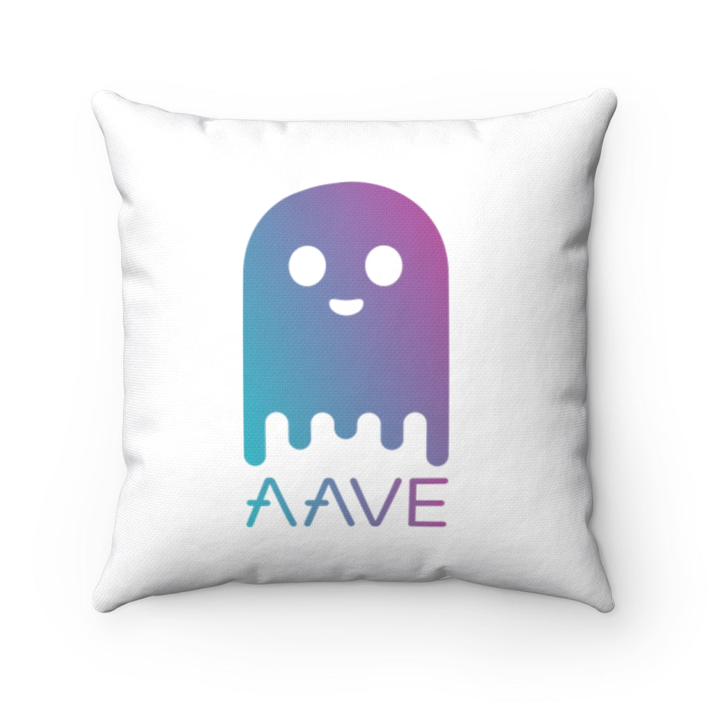 Aave (AAVE) Cryptocurrency Symbol Pillow