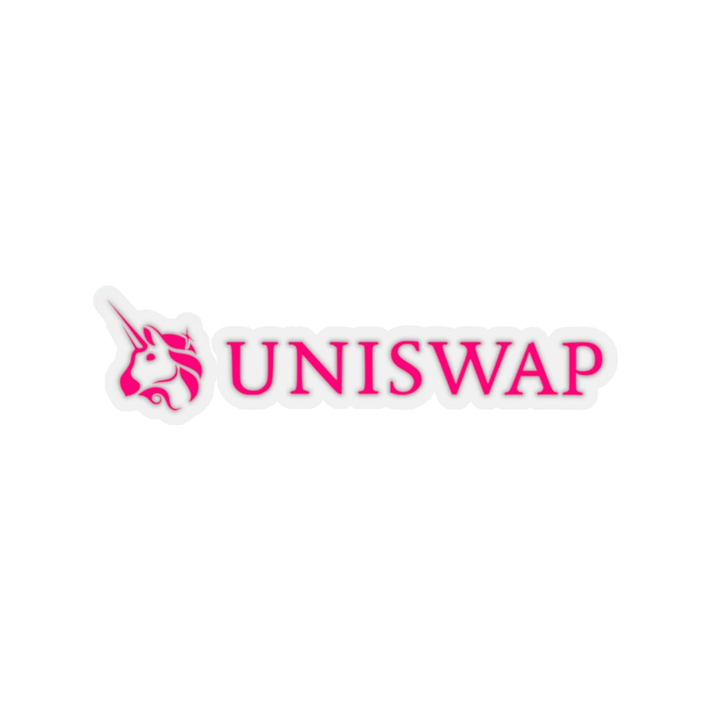 UniSwap (UNI) Cryptocurrency Symbol Stickers
