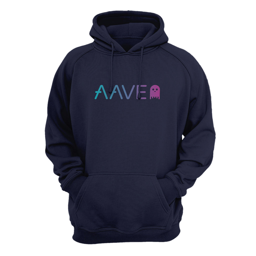 Aave (AAVE) Cryptocurrency Symbol Hooded Sweatshirt