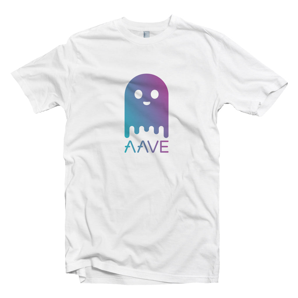Aave (AAVE) Cryptocurrency Symbol T-shirt