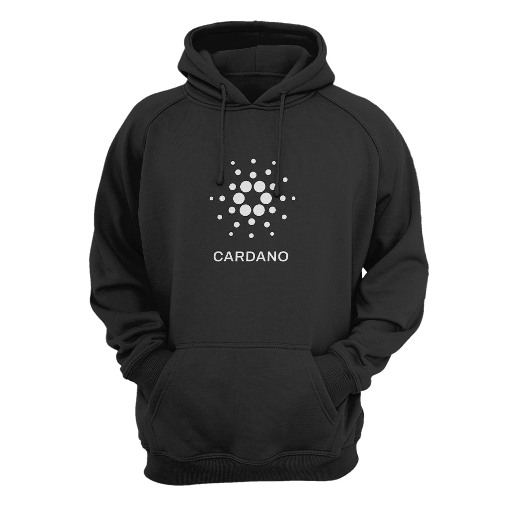 Cardano (ADA) Cryptocurrency Symbol Hooded Sweatshirt