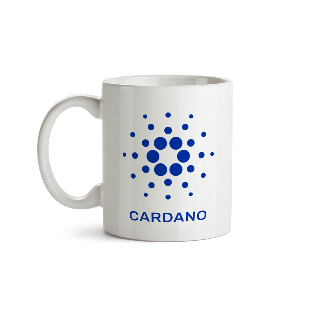 Cardano (ADA) Cryptocurrency Symbol Mug