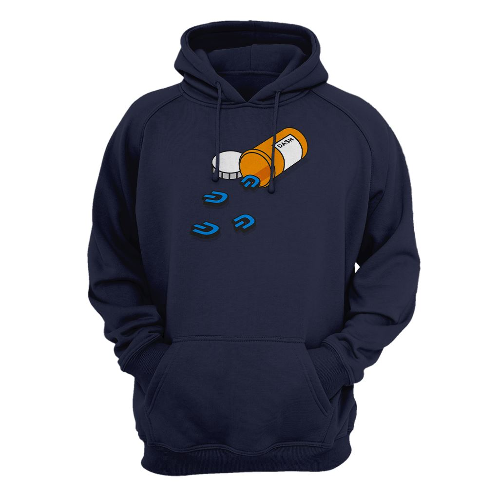 Addicted to Dash Cryptocurrency Hoodie