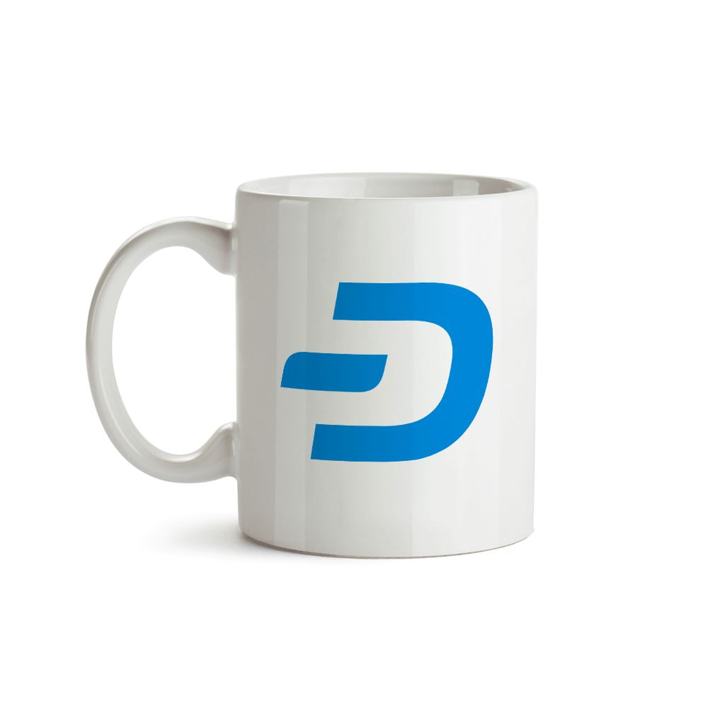 Dash Cryptocurrency Symbol Mug