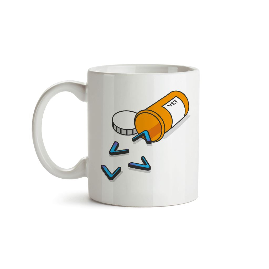 Addicted to Vechain, VET Medicine Crypto Mug
