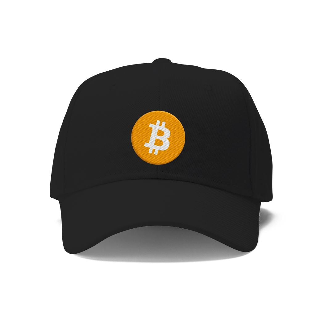 Bitcoin Embroidered Hat Hats - Crypto Wardrobe Bitcoin Ethereum Crypto Clothing Merchandise Gear T-shirt hoodie