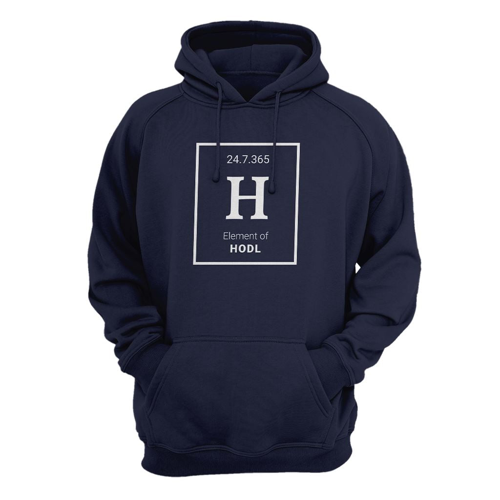 Element of Hodl Hoodie - Crypto Wardrobe Bitcoin Ethereum Crypto Clothing Merchandise Gear T-shirt hoodie