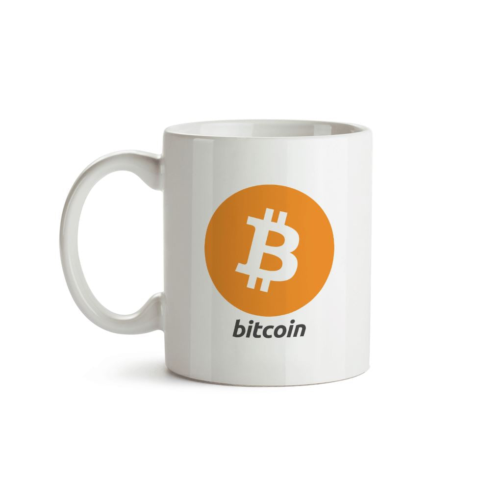Bitcoin Logo Mug - Crypto Wardrobe Bitcoin Ethereum Crypto Clothing Merchandise Gear T-shirt hoodie