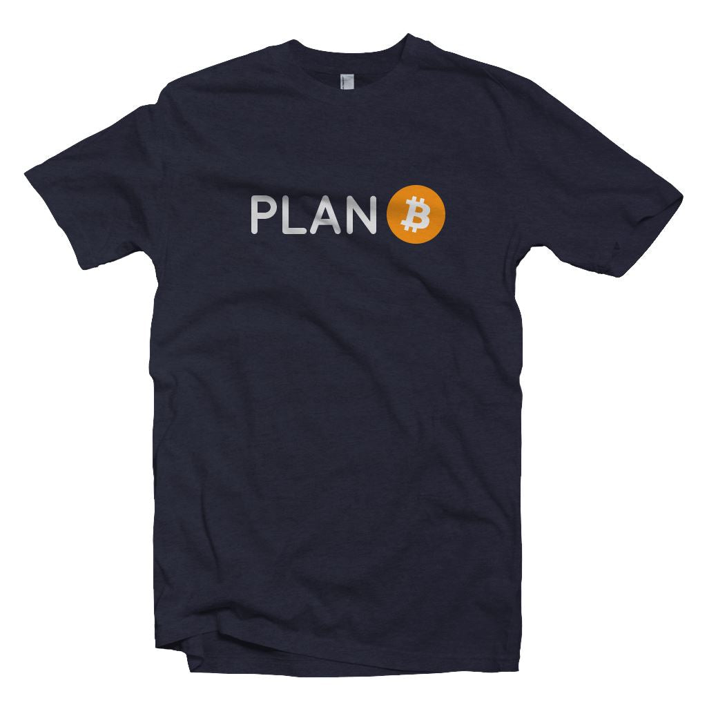 Plan Bitcoin T-Shirt2 - Crypto Wardrobe Bitcoin Ethereum Crypto Clothing Merchandise Gear T-shirt hoodie