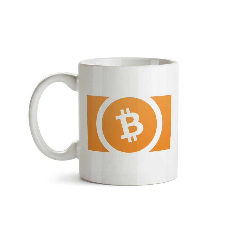 Bitcoin Cash BCH Cryptocurrency Symbol Mug