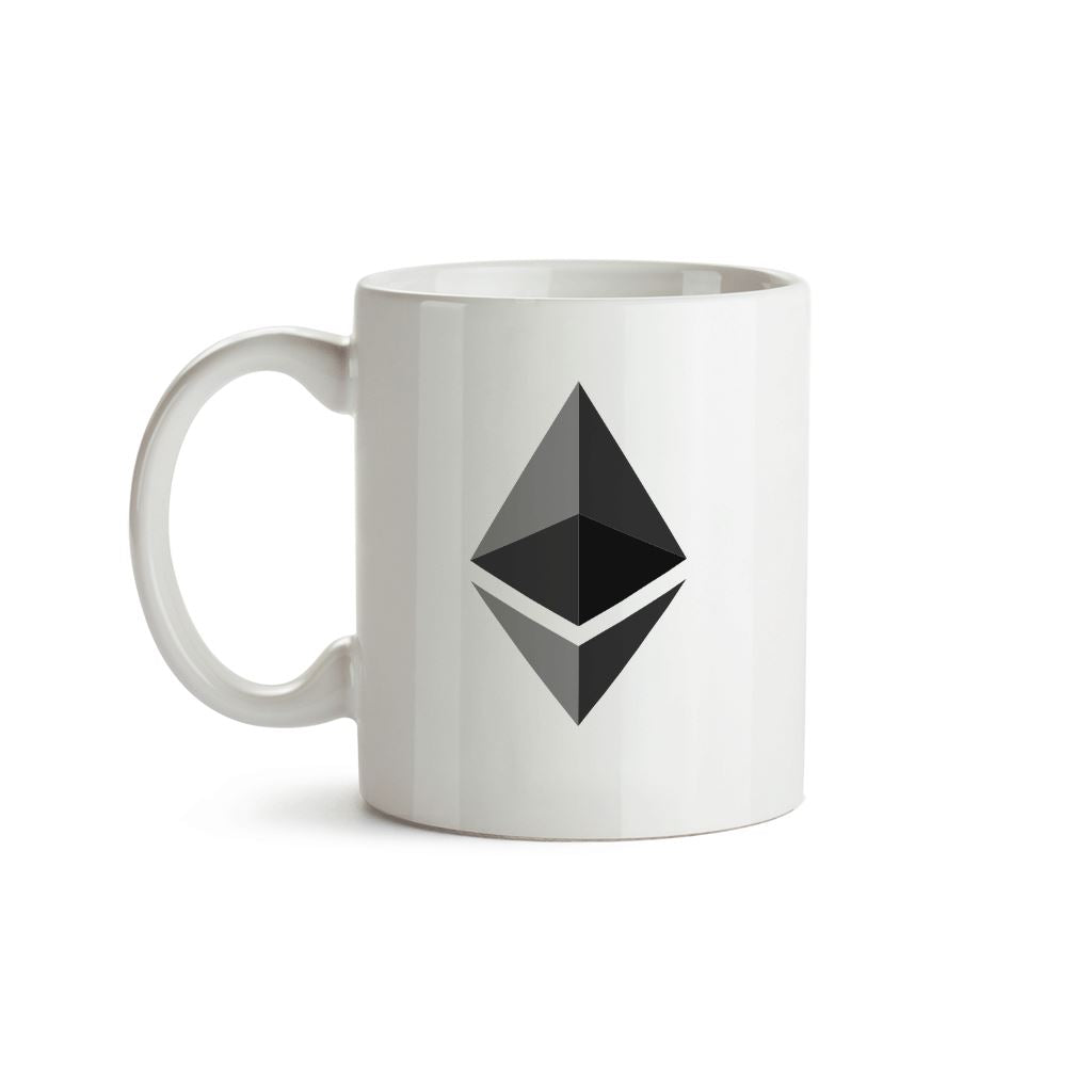 Original Ethereum Logo Mug - Crypto Wardrobe Bitcoin Ethereum Crypto Clothing Merchandise Gear T-shirt hoodie