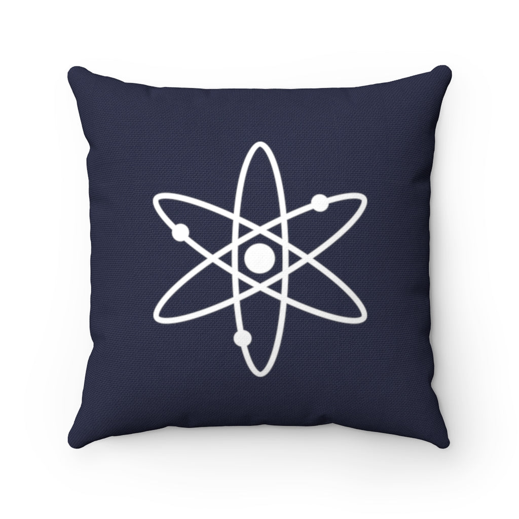 Cosmos (ATOM) Cryptocurrency Symbol Pillow