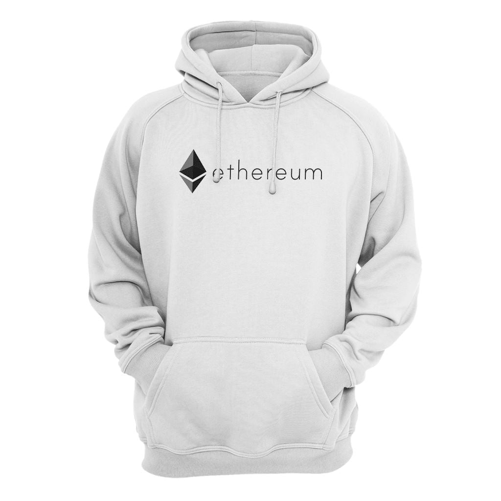 Ethereum Symbol Logo Hoodie Hoodie - Crypto Wardrobe Bitcoin Ethereum Crypto Clothing Merchandise Gear T-shirt hoodie