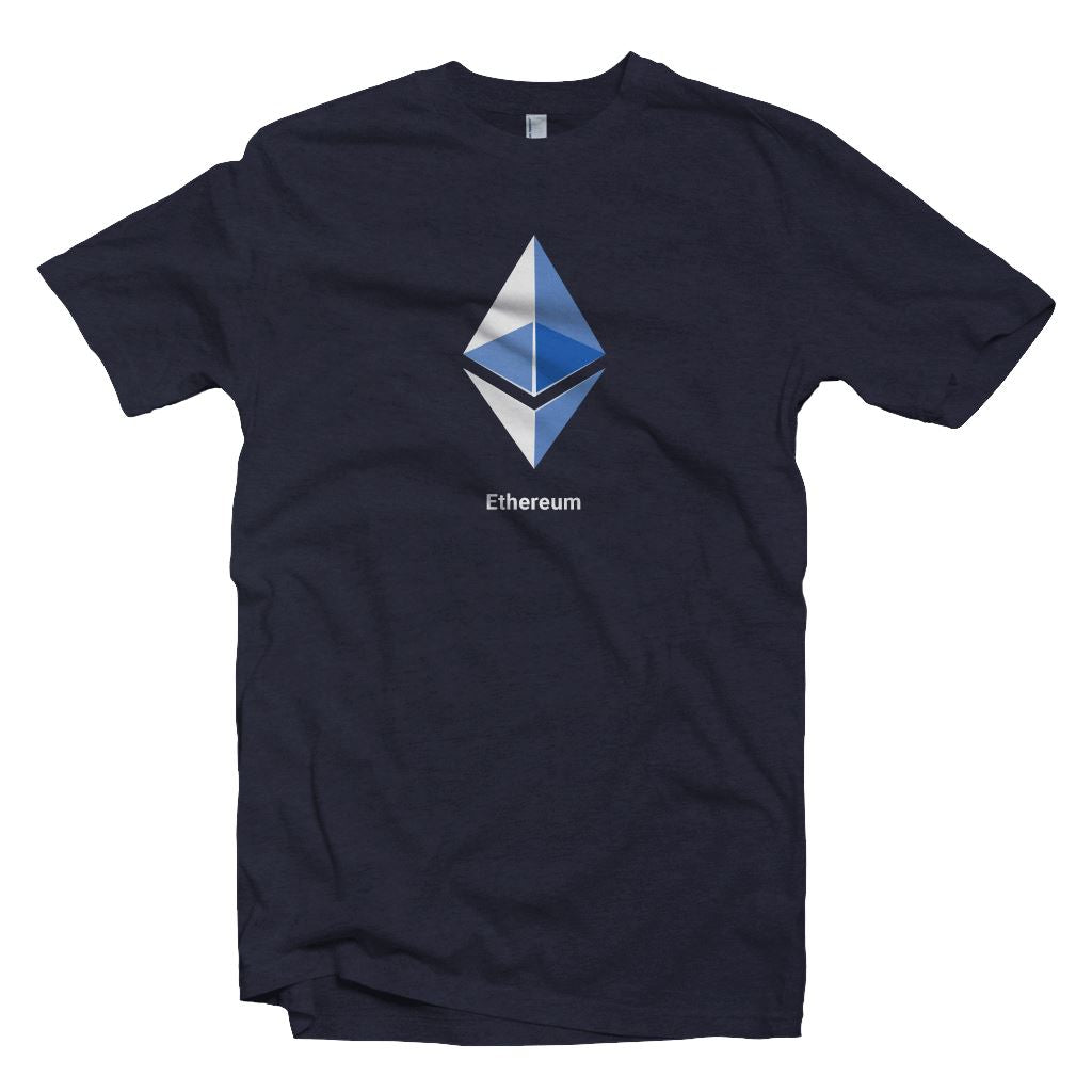 Blue Ethereum Logo Crypto T-shirt