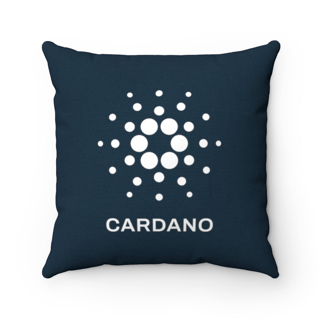 Cardano (ADA) Cryptocurrency Symbol Pillow