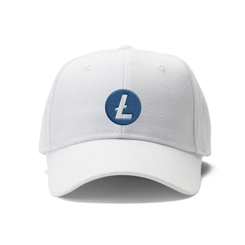 Litecoin LTC Cryptocurrency Symbol Hat