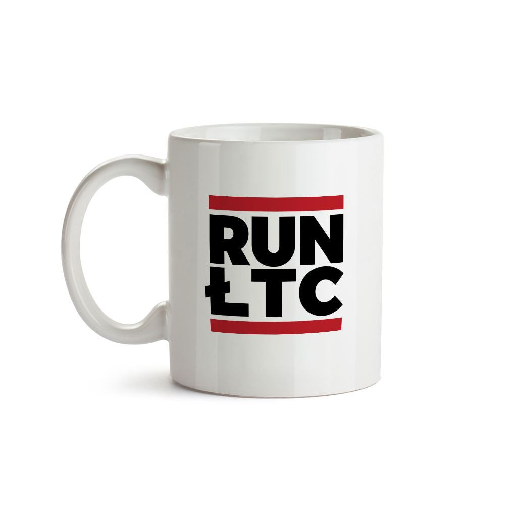Litecoin Cryptocurrency RUN LTC Mug