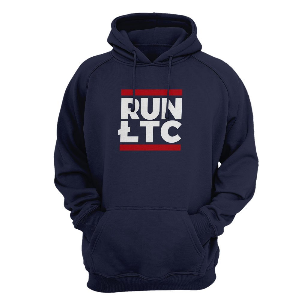 Litecoin Cryptocurrency RUN LTC Hoodie
