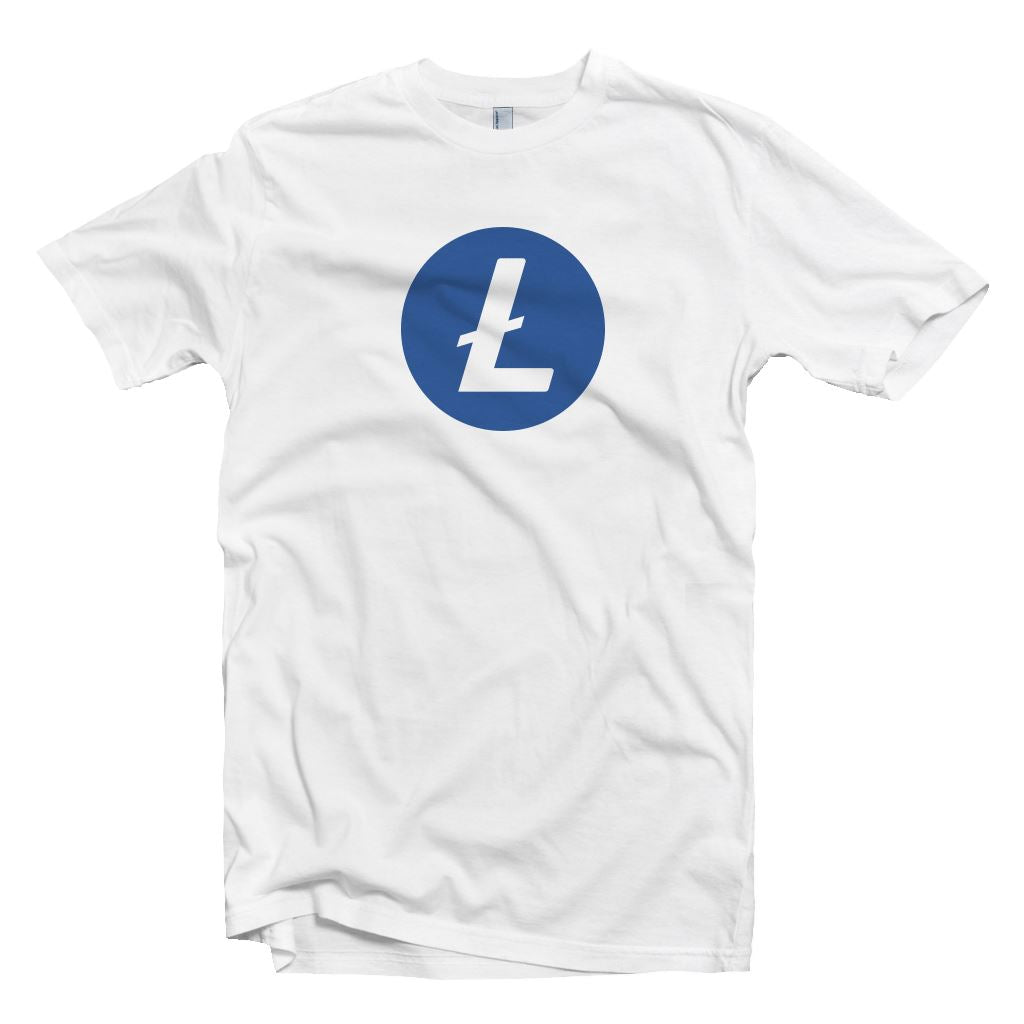 Litecoin LTC Cryptocurrency Symbol T-shirt