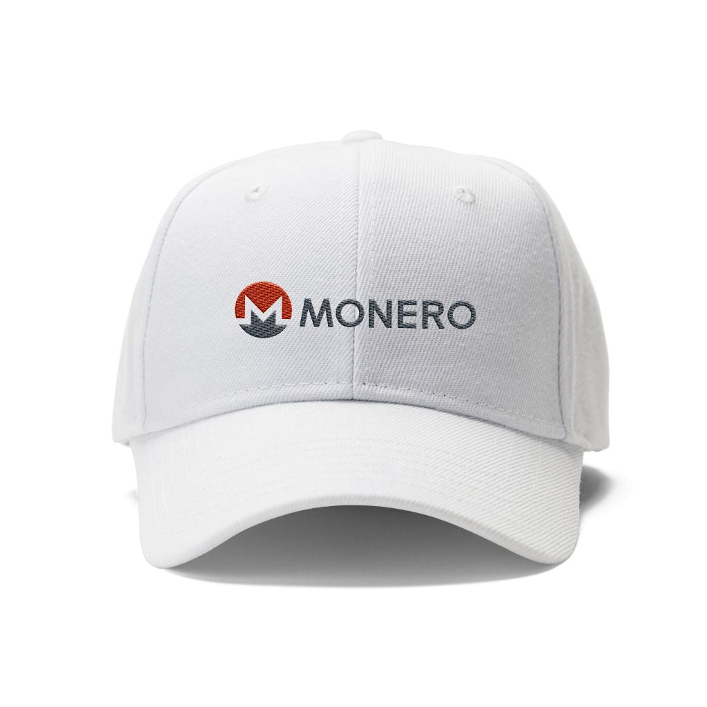 Monero XMR Cryptocurrency Logo Hat